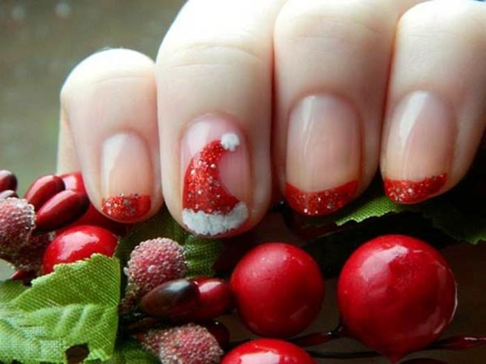 Gelnägel-weihnachten-in-rot-motiv