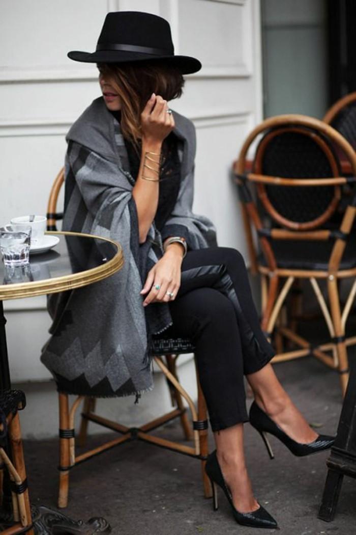 Hut-filzen-schwarz-modelle-satin-schleife