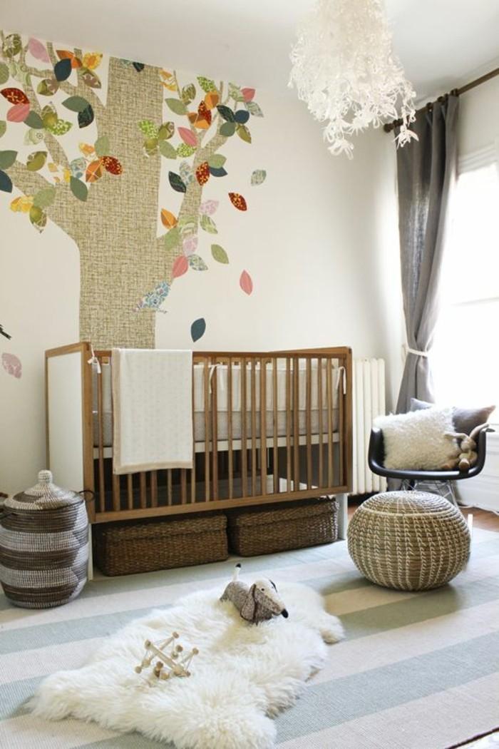 Kinderzimmer-bunte-tapeten-kreatives-tapeten-muster-Baum