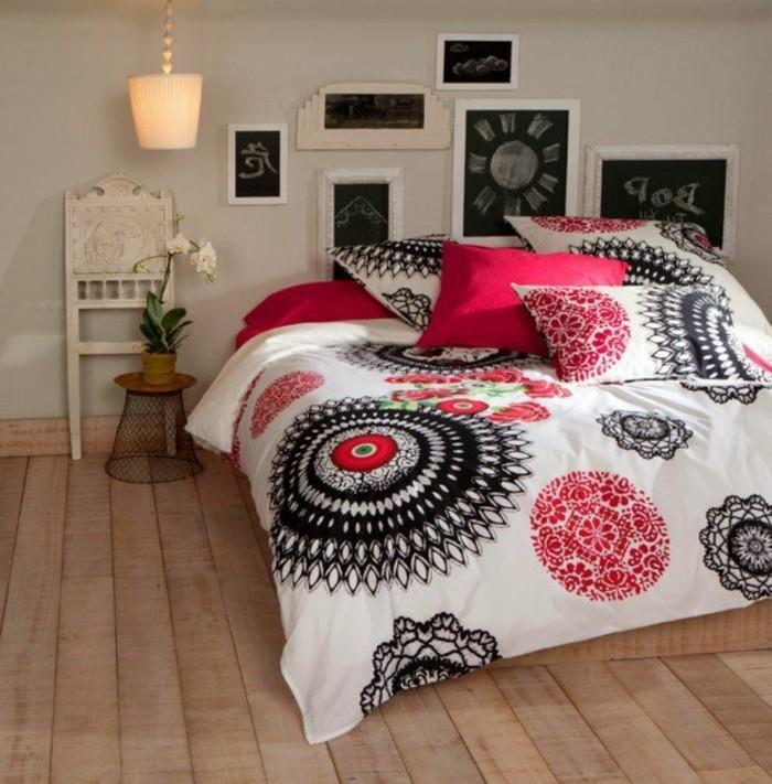 Moderne-Bettwäsche-kleines-schlafzimmer-gemütlich