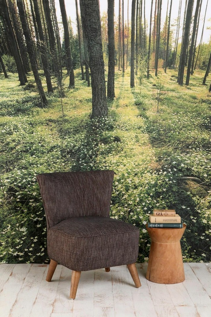 80 atemberaubende modelle ausgefallene tapeten for Sessel textil