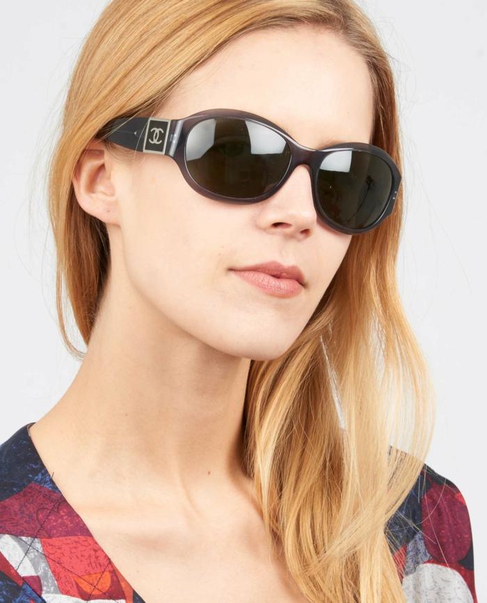 Sonnenbrillen-Chanel-rahmen-braun