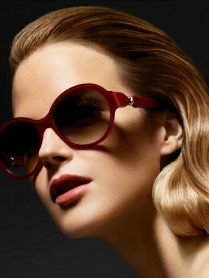 Sonnenbrillen-Chanel-rot-rahmen-modelle