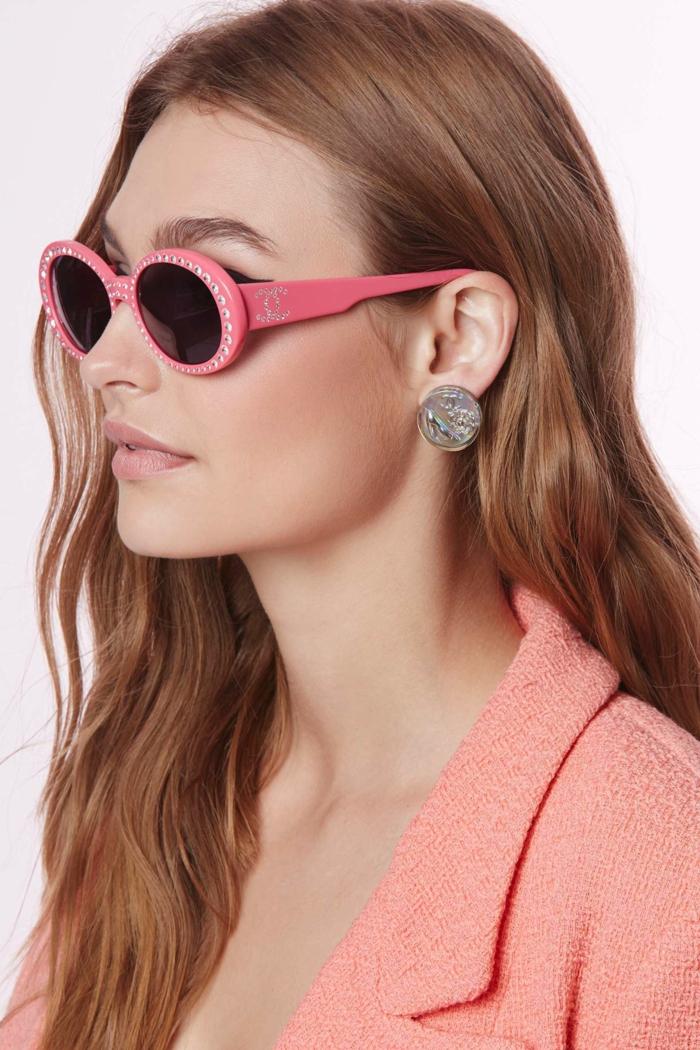 Sonnenbrillen-Chanel-vintage-pink
