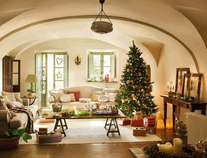Fesselnd Weihnachtsbaum Schmücken Kleine Wohnung