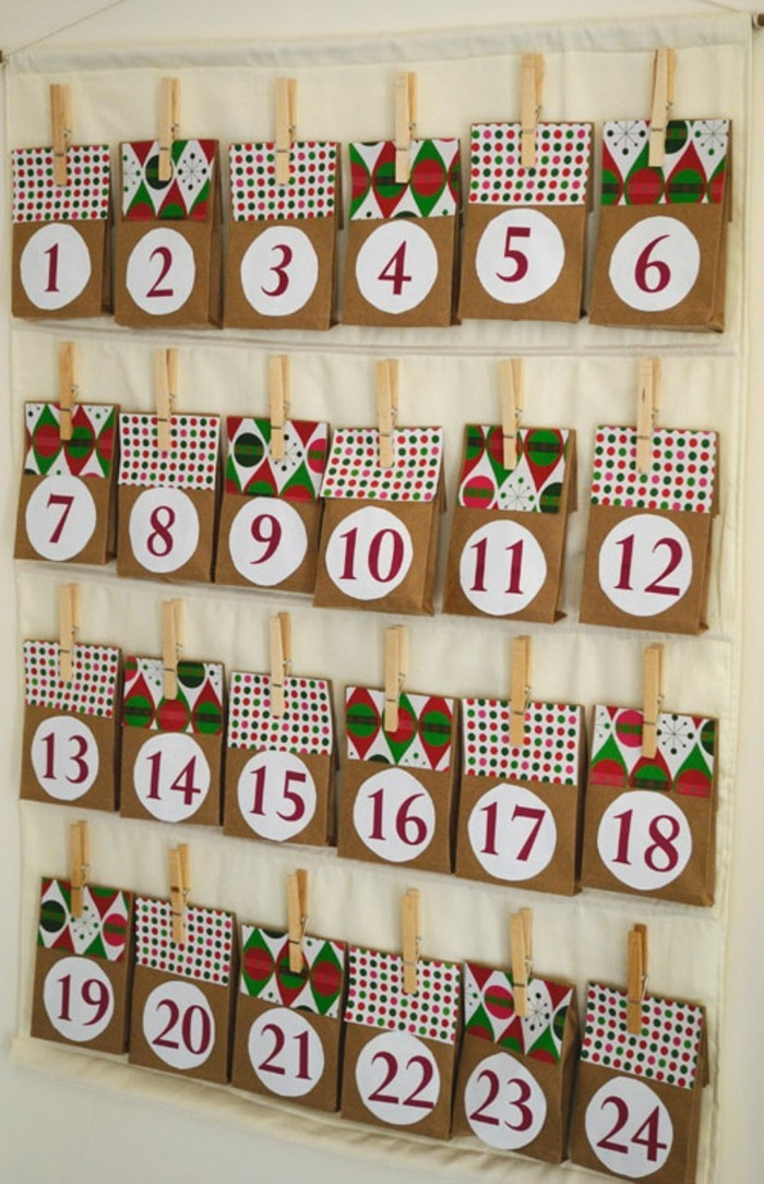 Create advent calendars yourself: 110 awesome ideas!