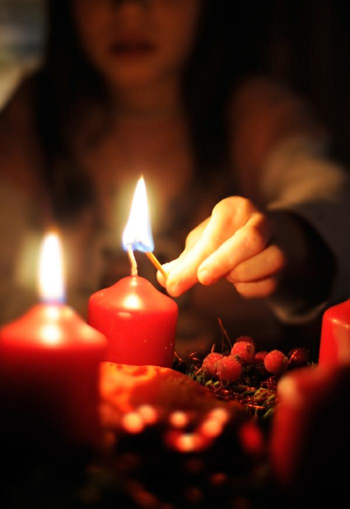 106 atemberaubende adventskranz ideen!   archzine.net