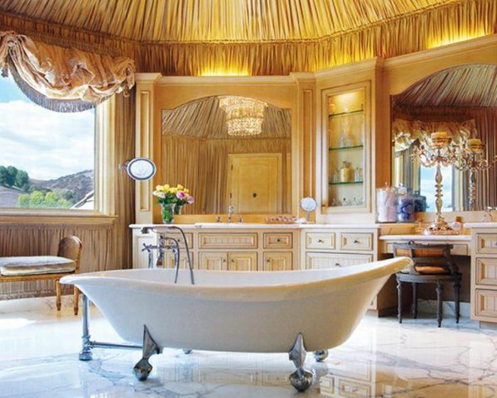 aristokratische-moderne-bäder-freistehende-badewanne