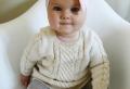 Baby Pullover stricken – tolle Ideen und Muster