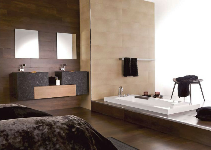 badezimmer-dekorieren-zwei-schöne-farben-zusammenbringen