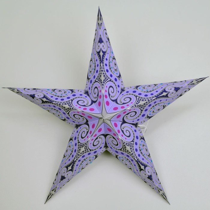 bastelideen-zum-weihnachten-tolles-modell-stern-in-lila