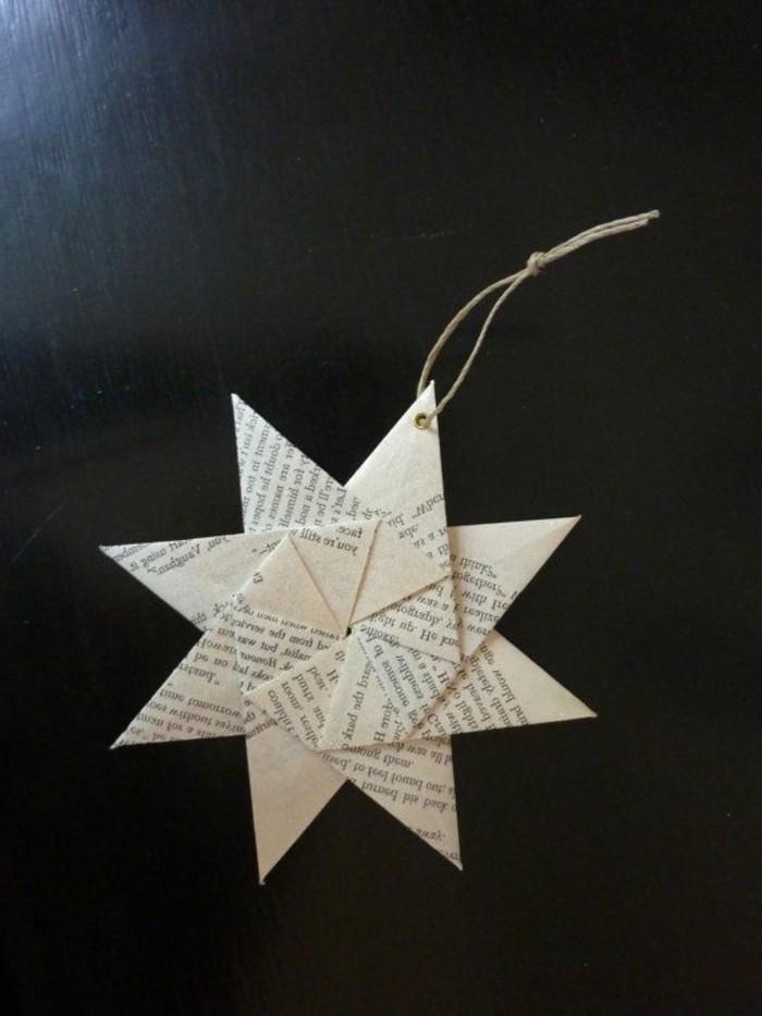 bastelideen-zum-weihnachten-wunderschönes-modell-origami-stern