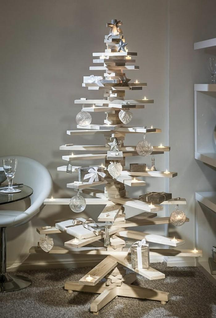 bastelideen-zum-weihnachten-wunderschönes-modell-weihnachtsbaum