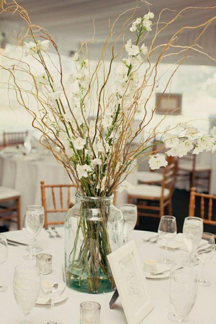 Comment Decorer Un Grand Vase En Verre Transparent