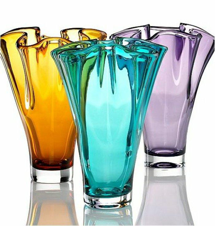 blumenvasen-glas-schöne-deko-vasen