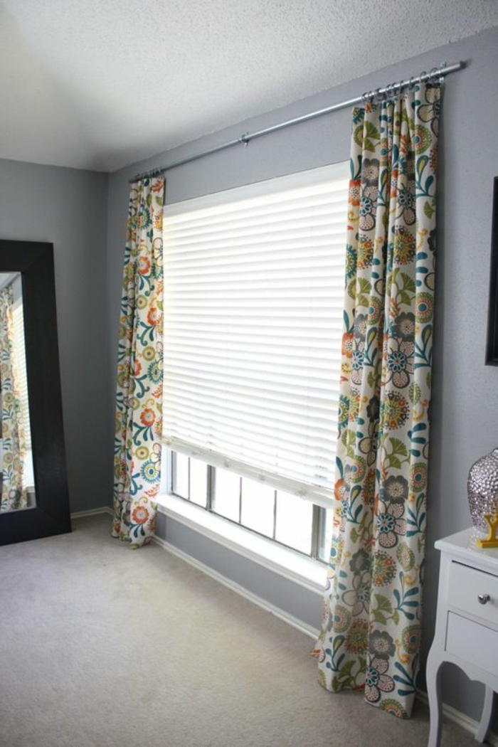 bunte-gardinen-für-wohnzimmer-cooles-Muster