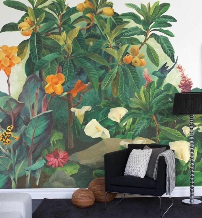 bunte-tapeten-naturales-tapeten-design-Natur-Früchte-Blumen