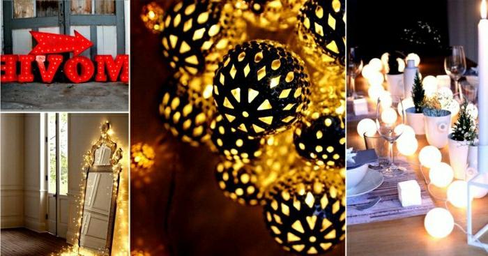 coole-partylichterketten-schöne-Dekoration-glühende-Kugeln