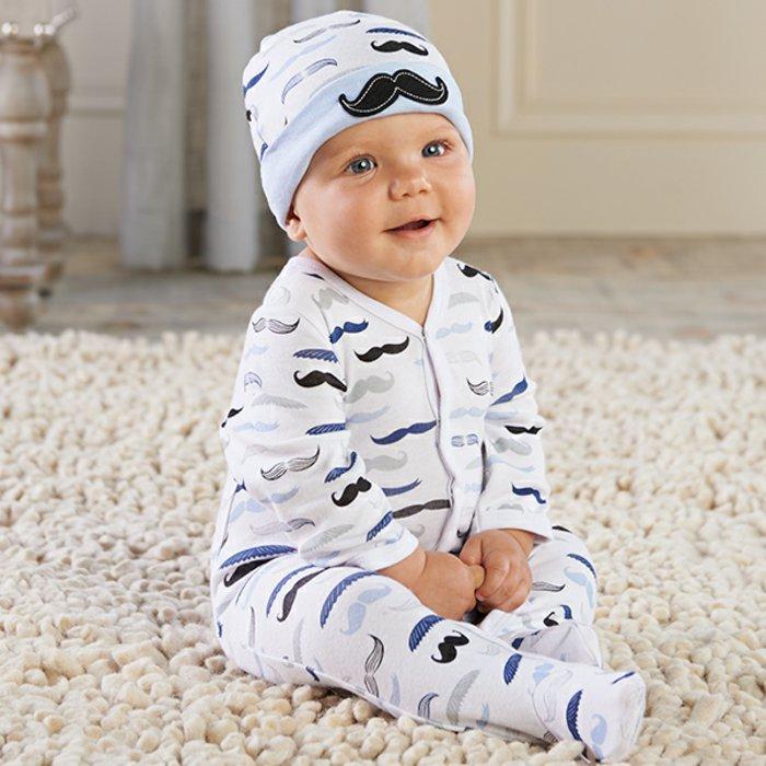 cooles-Modell-schlafanzug-jungen-kinderpyjama-mit-Hut