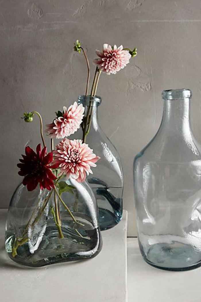 deko-vasen-groß-blumenvasen-glas-Gerbera-Blumen