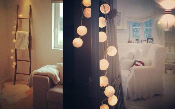 dekorative-lichterkette-birnen-glühende-Kugeln