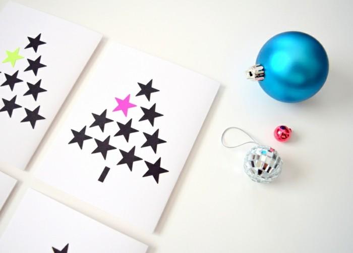 diy-ideen-zum-weihnachten-sehr-tolle-weiße-weihnachtskarten