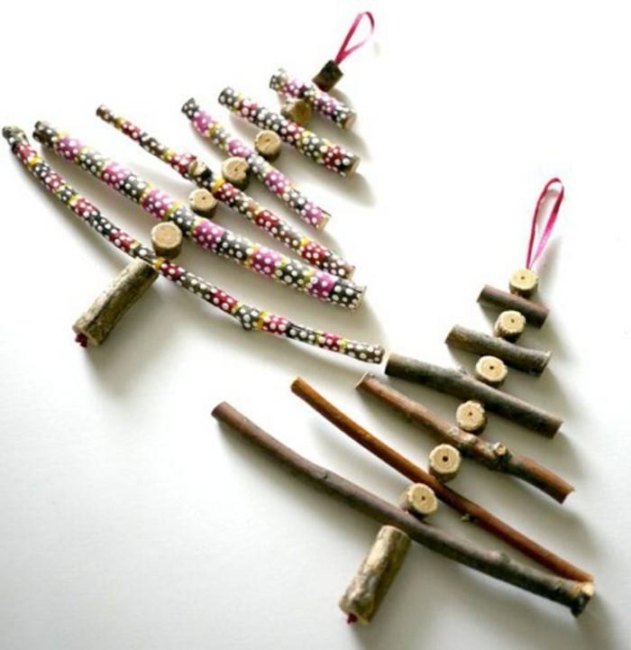 diy-ideen-zum-weihnachten-zwei-dekorative-tannenbäume-als-geschenk