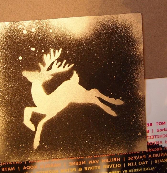 do-it-yourself-geschenke-zum-weihnachten-sehr-originelle-weihnachtskarte-mit-einem-damhirsch