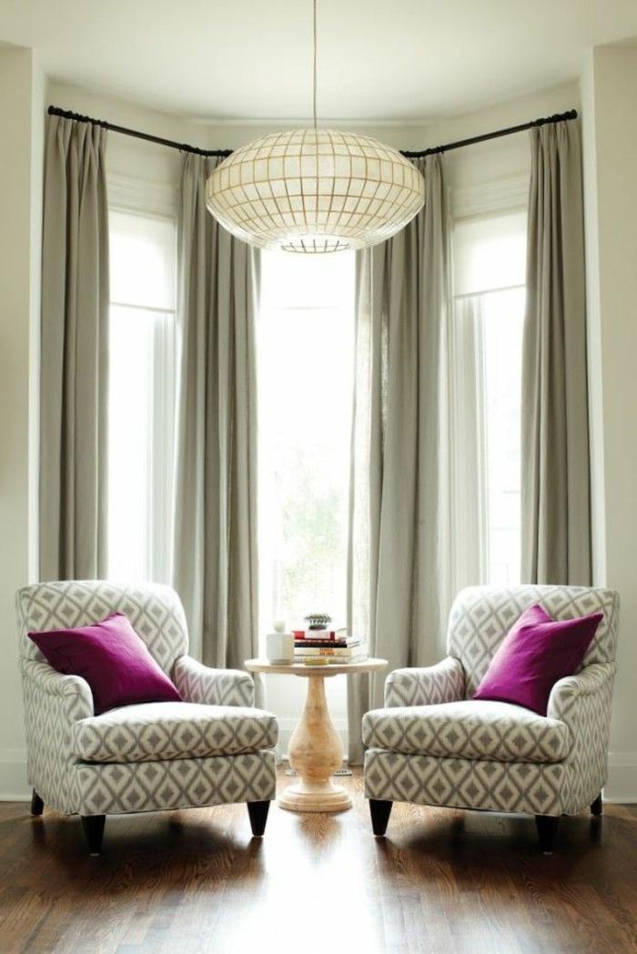 elegante-gardinen-für-wohnzimmer-graue-Nuancen