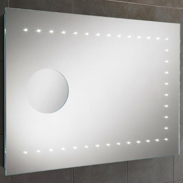 Badspiegel mit Beleuchtung - praktisch und elegant! - Archzine.net | {Glasbausteine dusche led 62}