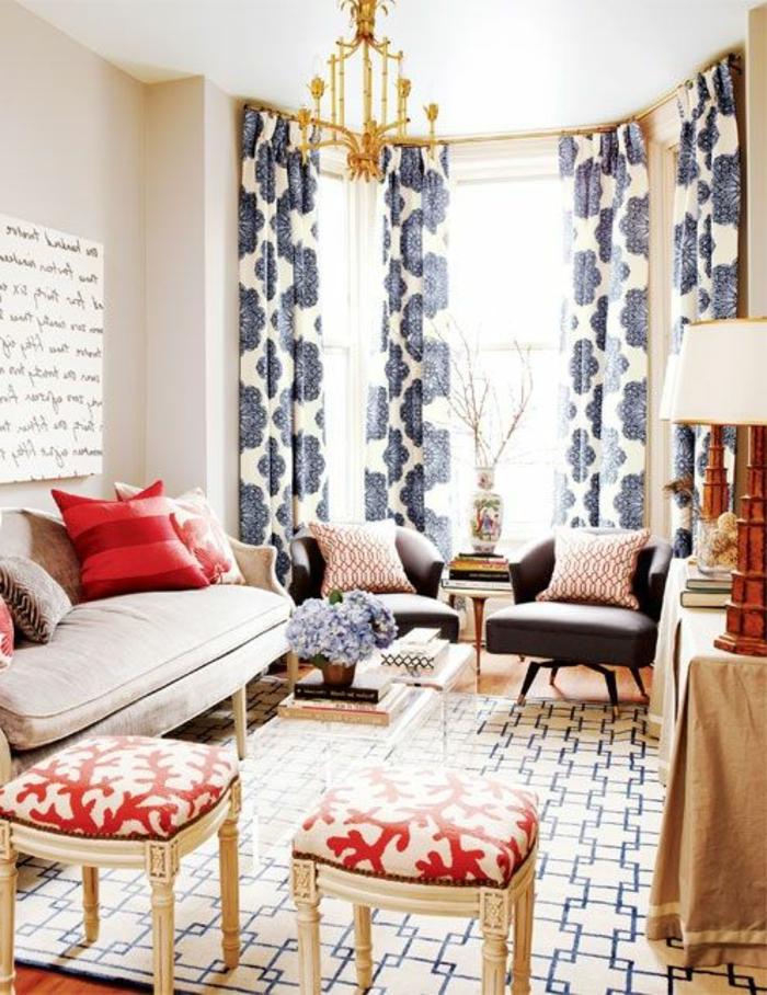 gardinen wohnzimmer trend: -Wohnzimmer-Interieur-wohnzimmer-gardinen ...