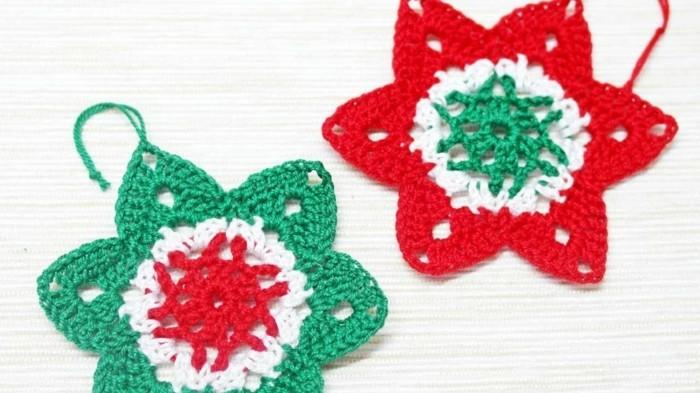123 super ideen weihnachtssterne basteln - Weihnachtsideen zum basteln ...