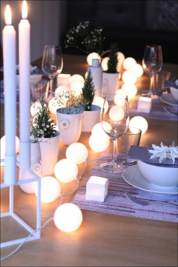 garten-lichterkette-party-lichterkette-außen-Tischdekoration