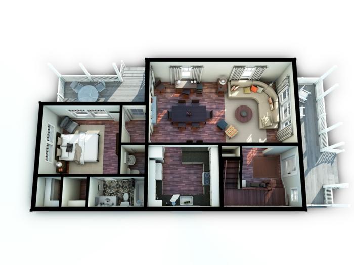 grundriss-einfamilienhaus-tolle-idee-für-architekten