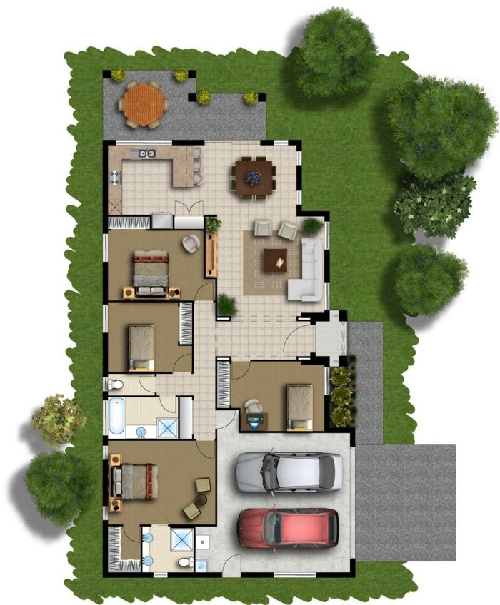 grundrisse-einfamilienhaus-wunderschönes-haus-bauen