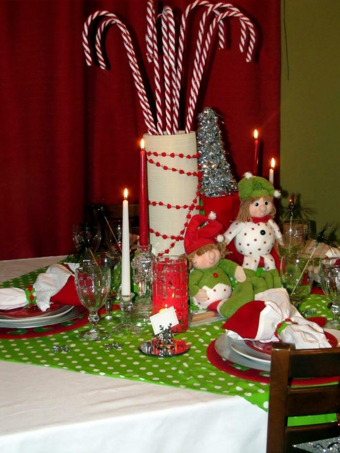 Tischdeko weihnachten selber basteln mit kindern  Weihnachtsbasteln mit Kindern: 105 tolle Ideen! - Archzine.net