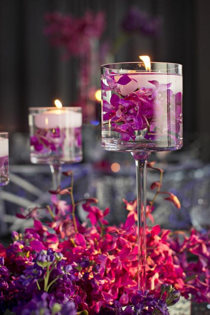 Tischdeko weihnachten lila  40 leichte, schnelle und günstige Tischdekoration Ideen zum ...