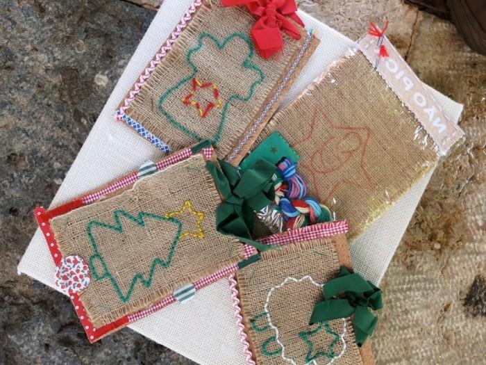 120 weihnachtsgeschenke selber basteln for Originelle weihnachtskarten