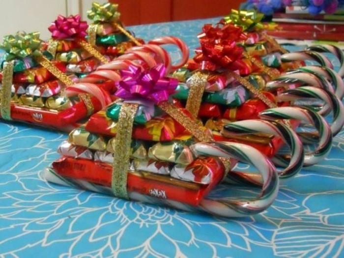kreative-geschenkideen-zum-weihnachten-zum-selbermachen-süßigkeiten-schlitten