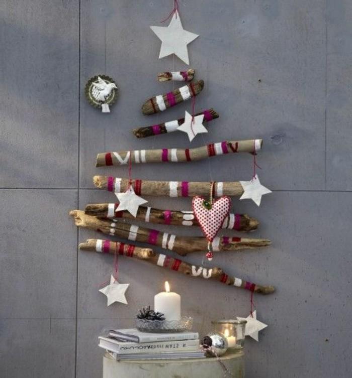 123 super ideen weihnachtssterne basteln - Tannenbaumschmuck basteln ...