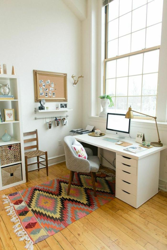 42 kreative und praktische einrichtungsideen f rs arbeitszimmer - Wohnideen arbeitszimmer ...