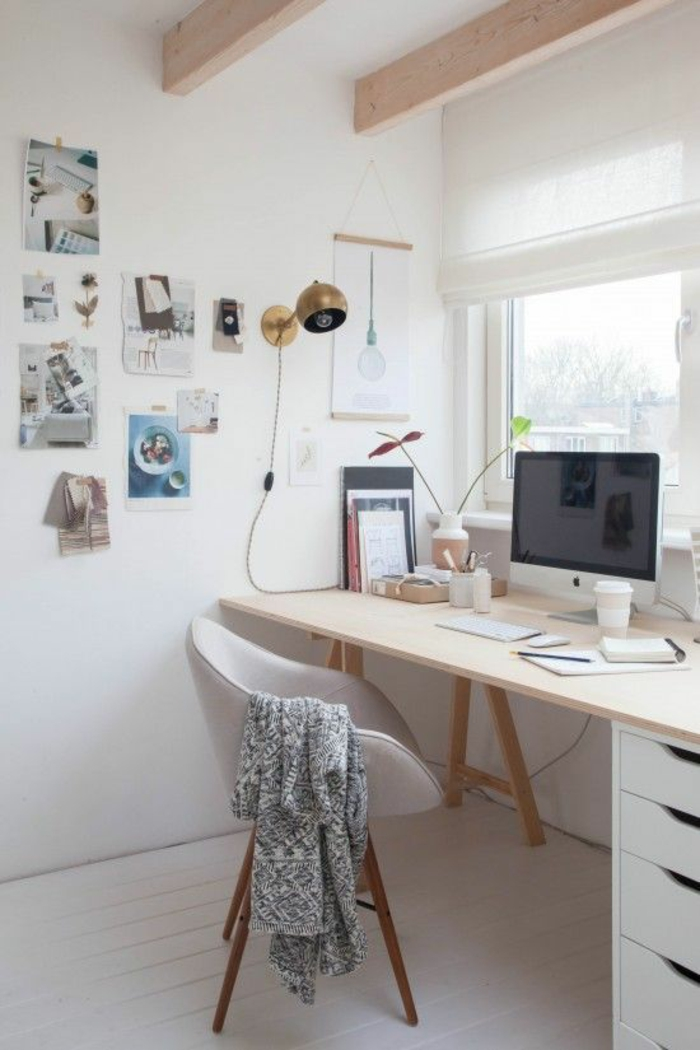 42 Kreative Und Praktische Einrichtungsideen Fürs Arbeitszimmer |  Einrichtungsideen ...