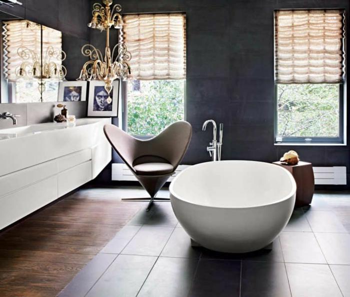 luxuriöses-Bad-freistehende-badewanne-oval-Sessel-Herzen-Form