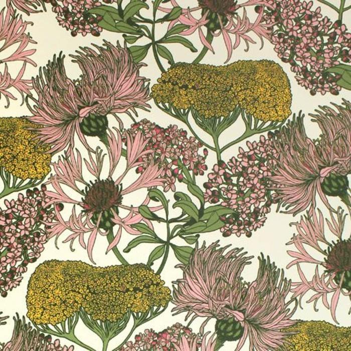 moderne-tapeten-mit-floralen-Motiven