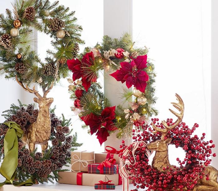 moderne-weihnachtsdeko-super-adventskränze-zum-hängen
