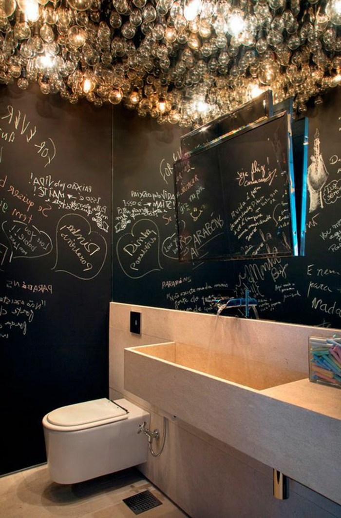 Modernes Bad Einrichten Originelle Badezimmerideen Leuchten Mit Schönem