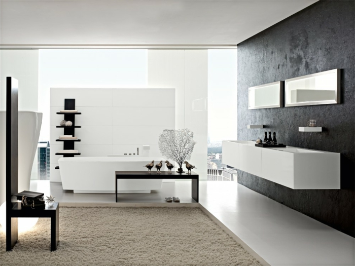 wei e m bel f r badezimmer billig. Black Bedroom Furniture Sets. Home Design Ideas