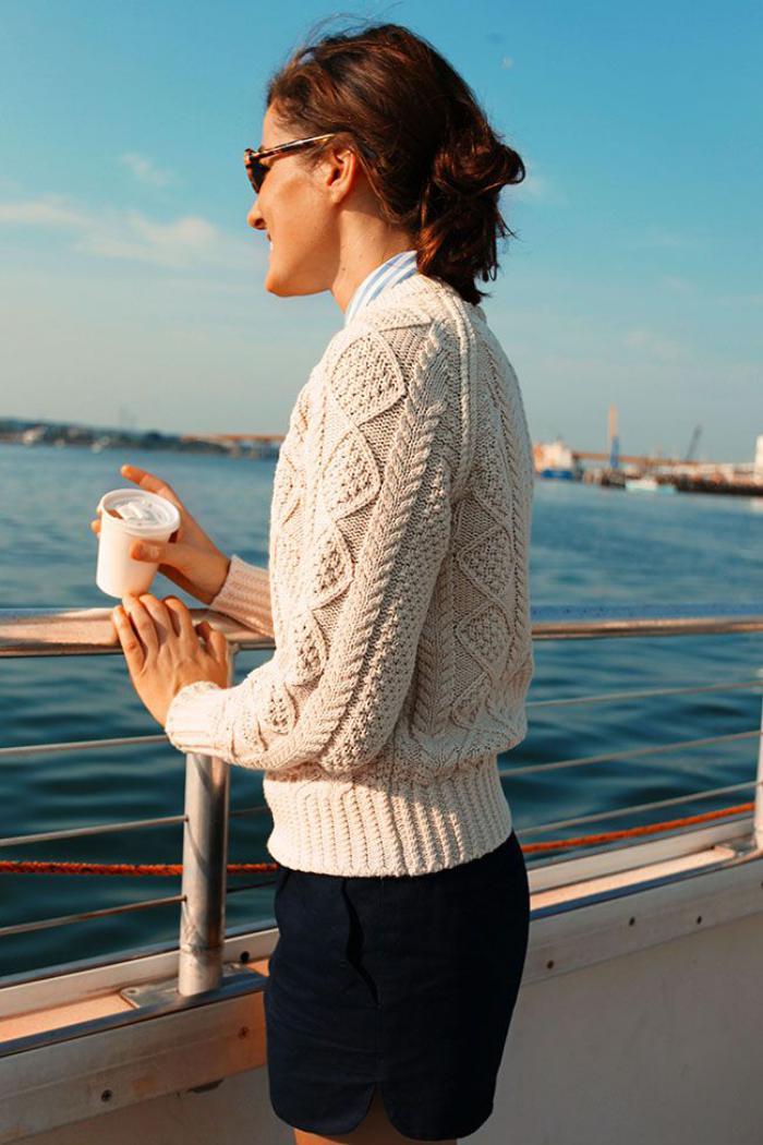 pullover-wolle-damen-beige-Zopfen-Muster