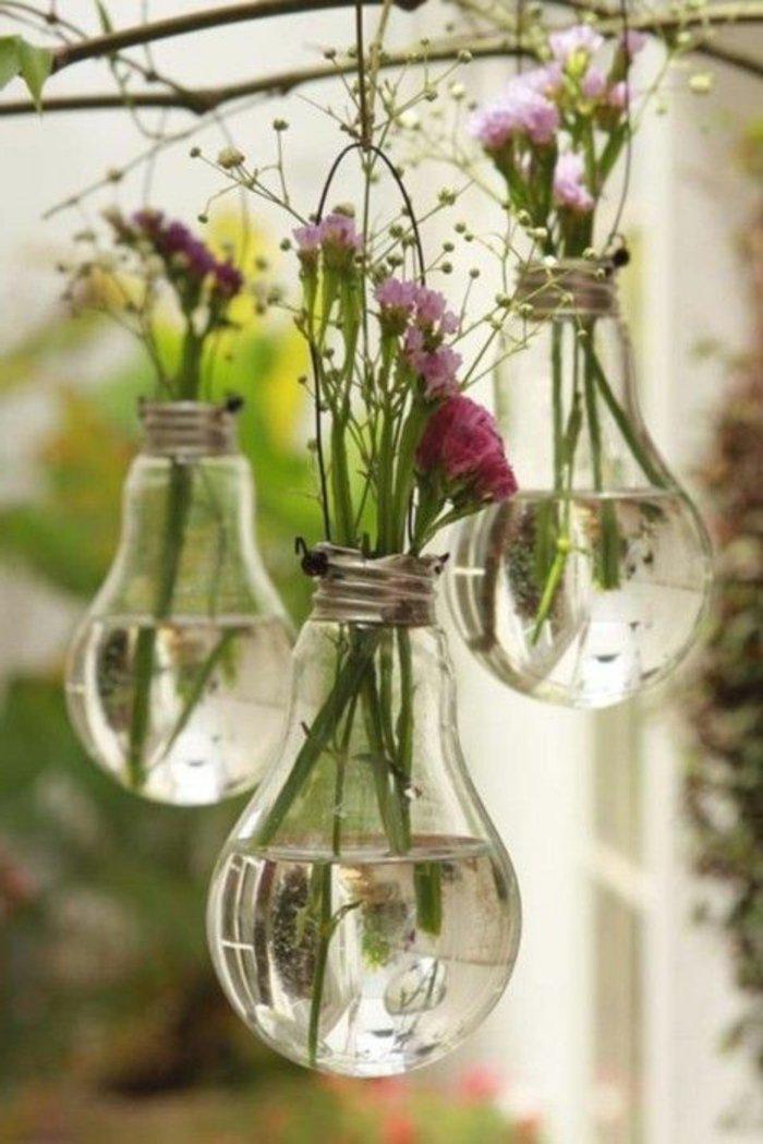 romantische-deko-vasen-DIY-Idee-mit-Glühbirnen