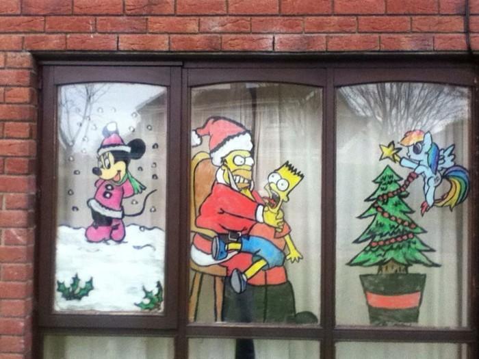 schöne-fensterdekoration-zum-weihnachten-super-kreative-gestaltung